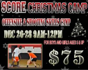 Score Christmas Camp