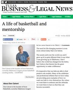 Score Basketball | Tulsa Business & Legal News