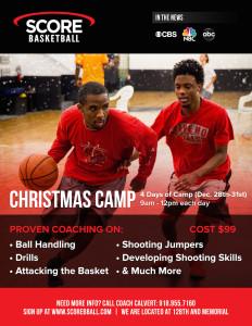Christmas Camp Flyer - 2015 - Score Basketball